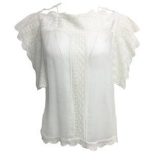 Étoile Isabel Marant White Tunic Blouse